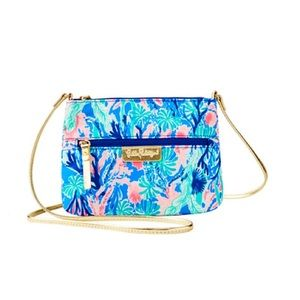 Lilly Pulitzer Jet Stream crossbody bag